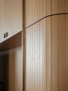 DETAIL | Timber detailing and curved wall. #Detail #Joinery #Panelling [ok]