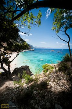 Sardinia, Italy.Landscape on Cala Mariolu
