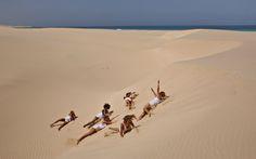 Rotolando fra le dune di Chavez