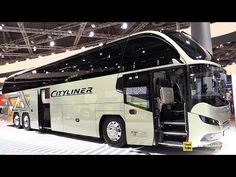 Cars Discover 2019 Neoplan Cityliner L Luxury Coach - Exterior and Interior Walkaround - 2018 IAA Hannover Service Bus, Luxury Motorhomes, Bus Interior, Luxury Bus, Terrain Vehicle, Double Decker Bus, Bus Coach, London Bus, Heavy Truck