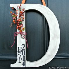Fall Door Hang - The Wood Connection Blog