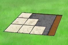 step 4 paving a patio