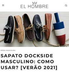 sapato, masculino, dockside, topsider