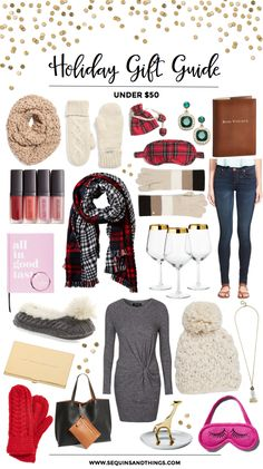 Sequins and Things: HOLIDAY GIFT GUIDE | UNDER $50