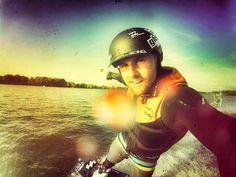Excelente tarde de wakeboard para disfrutar de este increíble deporte y de la Drift HD Ghost.