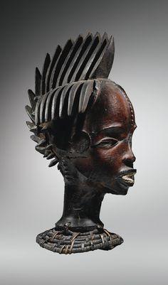 EJAGHAM HEAD-DRESS, NIGERIA