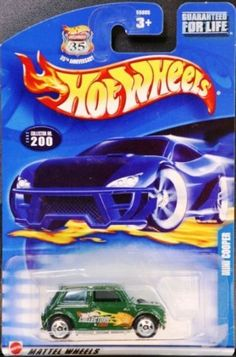 Hot Wheels 2002 Mini Cooper #200 GREEN.COM Variation 1:64 Scale Collectible Die Cast Car by Mattel. $4.00. 1:64. Super hard to find HotWheelsCollectors.com version!
