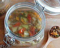 Zuppa di lenticchie in vasocottura al microonde pronte in 6 minuti