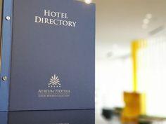 hotel id by Hedera Atrium Hotel, Menu Design, Printing Services, Luxury, Prints, Hotels