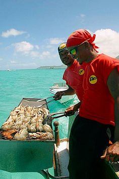 Food on board, Mauritius Island