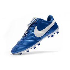 premium selection 6a583 2f0ae Nike Premier II 2.0 FG Blå Hvit Fotballsko