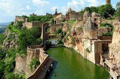🌎India:Benteng Chittorgarh, India