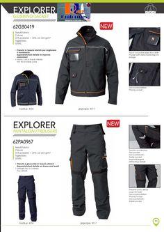 Cazadora y Pantalón con detalles fluorescentes y en contraste. http://www.rolanuniformes.es/ropa-trabajo-uniformes-industriales/rolan-siggi-professional/