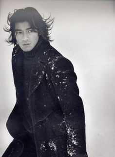 Takeshi Kaneshiro..... (I'm sorry, that thudding sound was my heart exploding. Carry on).