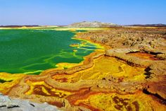 It doesn't get more inhospitable than the Danakil Depression in Ethiopia, considered the hottest p... - Photographerlondon | Dreamstime.com