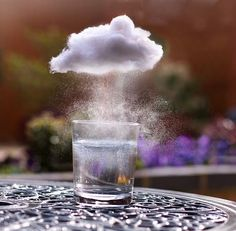 storm in a glass of water... literally