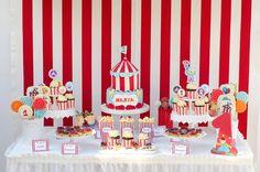 Circus party Circus Party, Birthday Cake, Desserts, Food, Fiestas, Tailgate Desserts, Deserts, Birthday Cakes, Essen