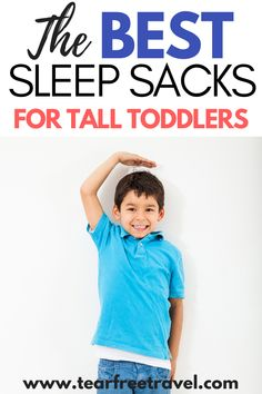 These are the best toddler sleep sacks for tall toddlers! We've got toddler sleep sacks that your kids can grow in to! From super warm sleep sacks to lightweight sleep sacks, we will break down the best sleep sacks for kids! Toddler Vacation, Toddler Travel Bed, Toddler Sleep, Toddler Travel Activities, Summer Activities For Kids, First Aid For Kids, Sleep Sacks, Traveling With Baby, Good Sleep