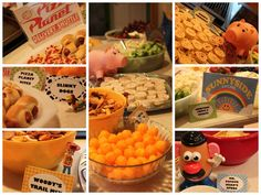 Toy Story birthday party: The food