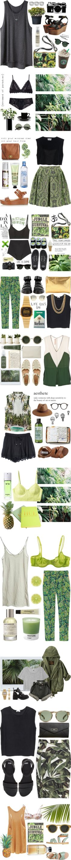 Jungle by dasha-volodina on Polyvore featuring мода, 3.1 Phillip Lim, Kenzo, ASOS, Le Labo, Elizabeth and James, Nikon, American Apparel, BOBBY and LSA International