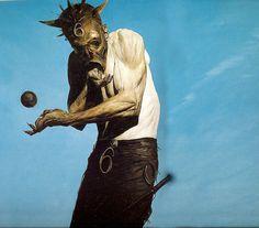 Paintings by Phil Hale: hale_mask.jpg