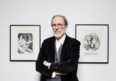 'I was always a contrarian' … Robert Crumb at his Art & Beauty exhibition in London.