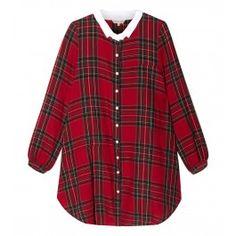 Red A-Line Shirt