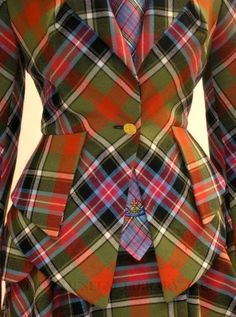 Styling plaid on pinterest... obsessed with this vivienne westwood plaid