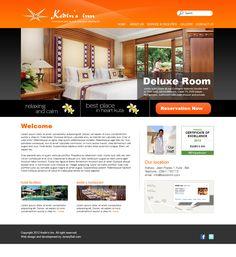 Kedin's Inn  web design, web development, wordpress