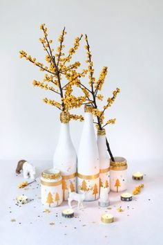 """Beautiful homemade Christmas decorations  www.LiquorList.com """"The Marketplace for Adults with Taste!"""" @LiquorListcom   #LiquorList.com"""