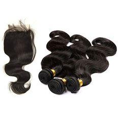 Moresoo 3 Tressen 22 zoll Gewellt Brasilianisch Virgin Haare Extensions Weave und 1pc 14 zoll Lace Closure (4*4 zoll) fur die Herstellung von Perucken Moresoo http://www.amazon.de/dp/B00UV60K26/ref=cm_sw_r_pi_dp_Nh39vb12HW28C