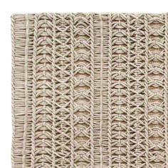 Knotwork rug close up