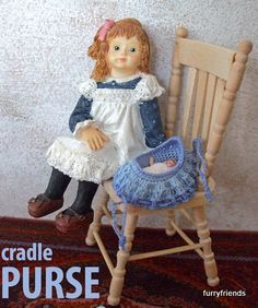 For those who have never heard about a cradle purse, it is a little…