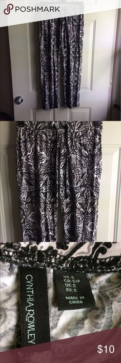 Cynthia Rowley Small Pajama Pants Cynthia Rowley Small Pajama Pants. Smoke free home Cynthia Rowley Intimates & Sleepwear Pajamas