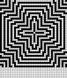 Bead Loom Patterns, Weaving Patterns, Mosaic Patterns, Crochet Patterns, Graph Paper Drawings, Graph Paper Art, Blackwork, Peler Beads, Charts And Graphs