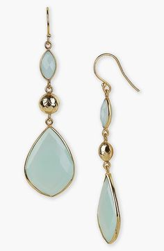 Argento Vivo Semiprecious Drop Earrings available at #Nordstrom
