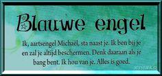 Blauwe engel / Aartsengel Michaël