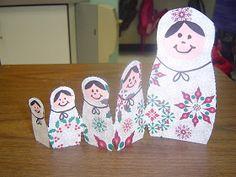 Mrs. T's First Grade Class: Russian Matryoshka Dolls