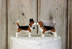 Your place to buy and sell all things handmade Fun Wedding Cake Toppers, Wedding Topper, Wedding Cakes, Best Friend Cake, Friends Cake, Rehearsal Dinner Decorations, Country Wedding Decorations, Beast Friends, Dog Wedding