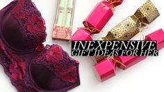 Inexpensive Gift Ideas for Her | Adore Me, Makeup & More