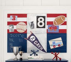 Stanton 2x3 Rugby Set | Pottery Barn Kids