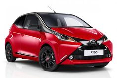 New Toyota Aygo new x-cite Models front view