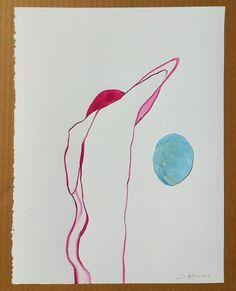 """Over the Moon"" | Zoe Pawlak | Buy Some Damn Art"