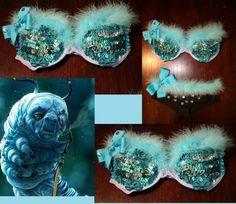 Alice in Wonderland Caterpillar inspired bra!