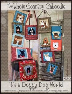 It's A Doggy Dog World – Quilting Books Patterns and Notions