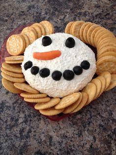 Decoración torta mini de OLAF