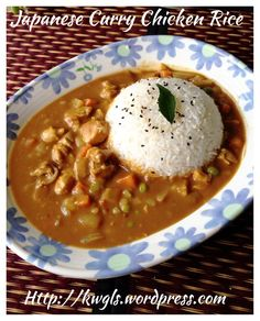 Homemade Japanese Curry Roux–Japanese Curry Chicken Rice Prepare ...