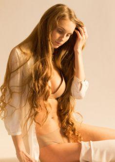 Naked long hair