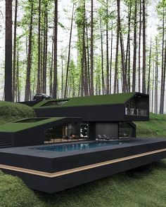 Model Architecture, Architecture Design Concept, Modern Architecture House, Interior Architecture, Amazing Architecture, Modern Houses, Houses Houses, Contemporary Houses, Glass Houses