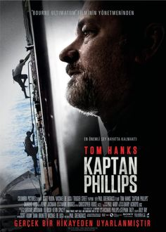 Kaptan Phillips - Captain Phillips - 2013 - BDRip Film Afis Movie Poster